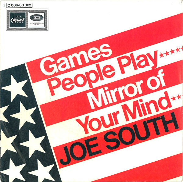 Cover Joe South - Games People Play / Mirror Of Your Mind (7, Single) Schallplatten Ankauf