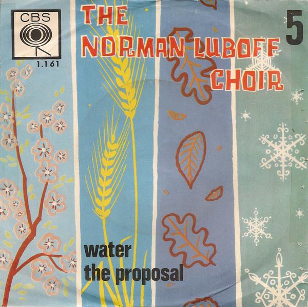Bild Norman Luboff Choir - Water (7, Single) Schallplatten Ankauf