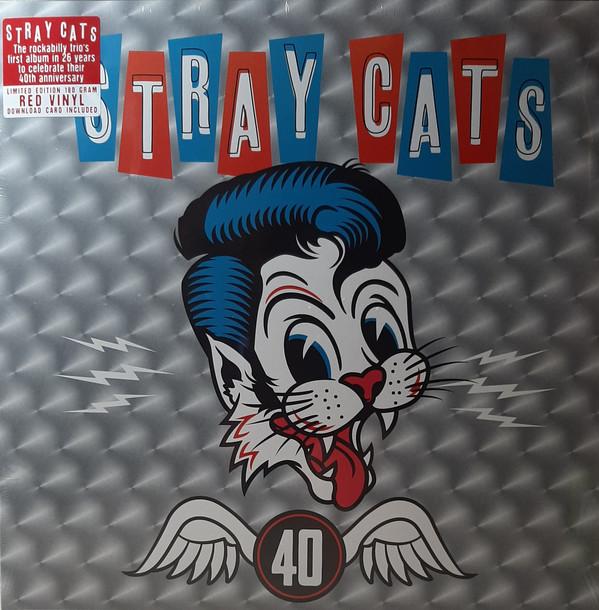 Cover Stray Cats - 40 (LP, Album, Ltd, Red) Schallplatten Ankauf