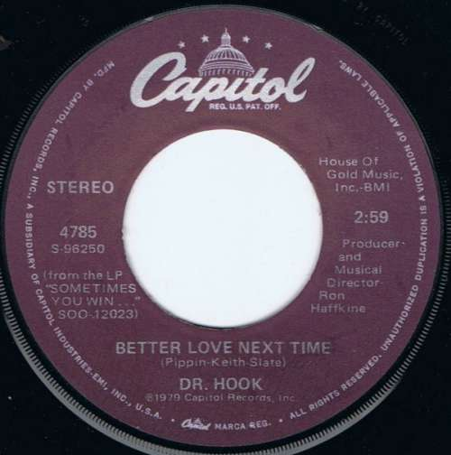 Bild Dr. Hook - Better Love Next Time (7, Single) Schallplatten Ankauf