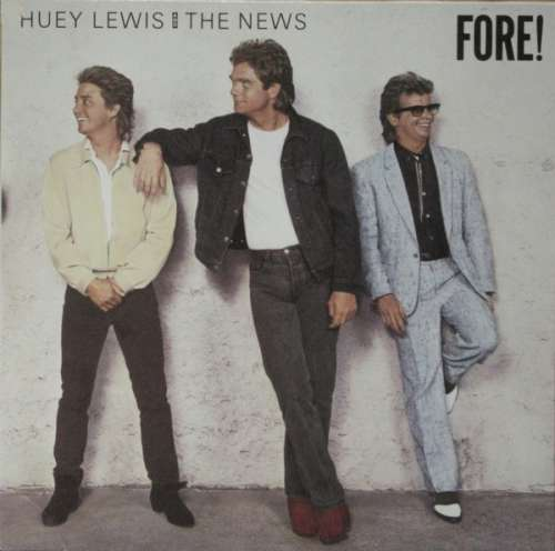 Bild Huey Lewis And The News* - Fore! (LP, Album) Schallplatten Ankauf