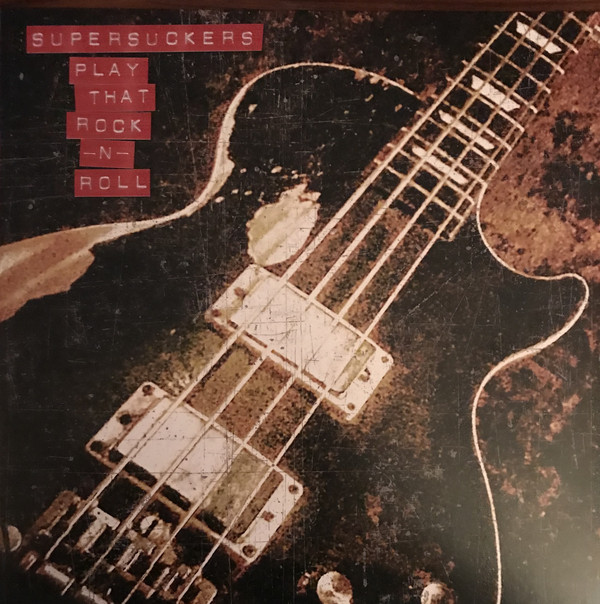 Cover Supersuckers - Play That Rock -N- Roll (LP, Album, Red) Schallplatten Ankauf