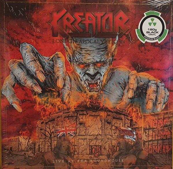 Cover Kreator - London Apocalypticon (Live At The Roundhouse) (2xLP, Album) Schallplatten Ankauf