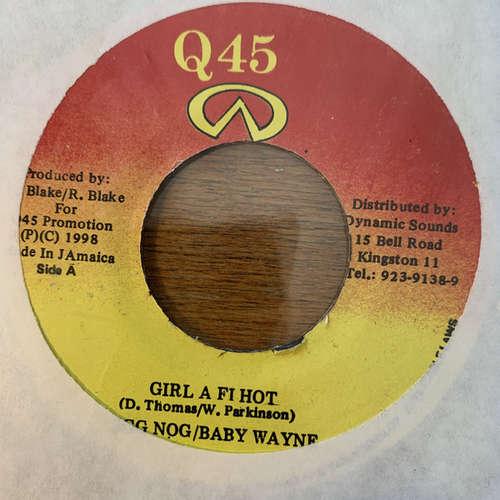 Cover Egg Nog / Baby Wayne - Girl A Fi Hot (7) Schallplatten Ankauf