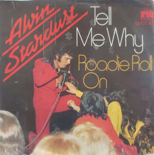 Cover zu Alvin Stardust - Tell Me Why (7, Single) Schallplatten Ankauf