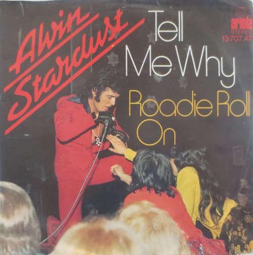 Cover zu Alvin Stardust - Tell Me Why (7, Single) Schallplatten Ankauf