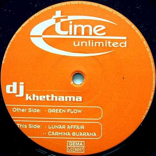 Cover zu DJ Khetama - Green Flow (12) Schallplatten Ankauf