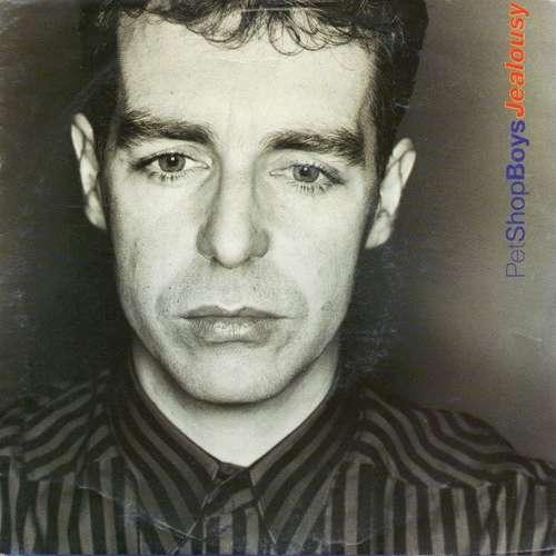 Cover Pet Shop Boys - Jealousy (7, Single) Schallplatten Ankauf