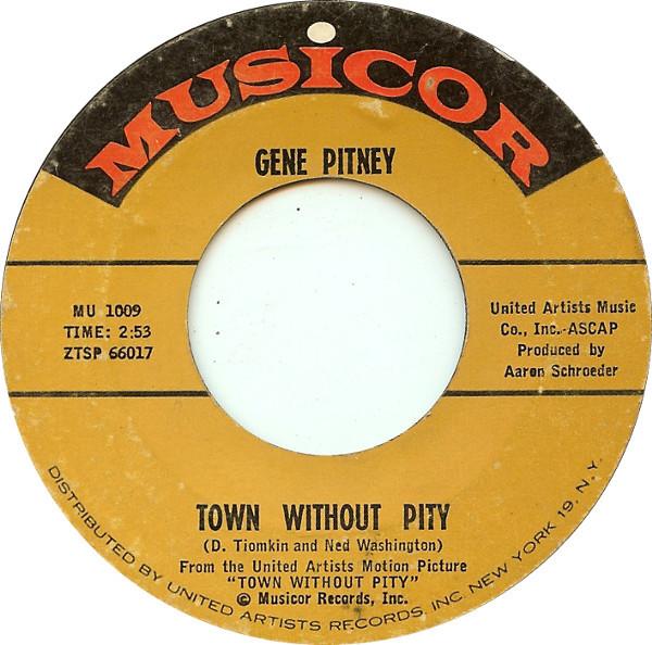 Bild Gene Pitney - Town Without Pity  (7, Single) Schallplatten Ankauf