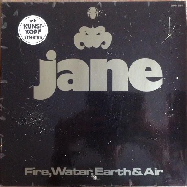 Cover Jane - Fire, Water, Earth & Air (LP, Album, RE, Ora) Schallplatten Ankauf