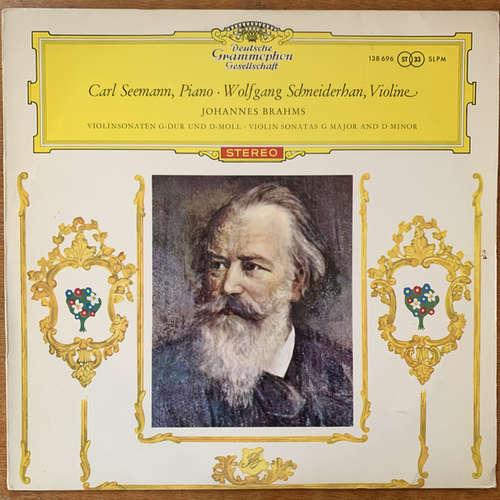 Bild Johannes Brahms, Carl Seemann ∙ Wolfgang Schneiderhan - Violin Sonatas In G Major And D Minor (LP, Mis) Schallplatten Ankauf
