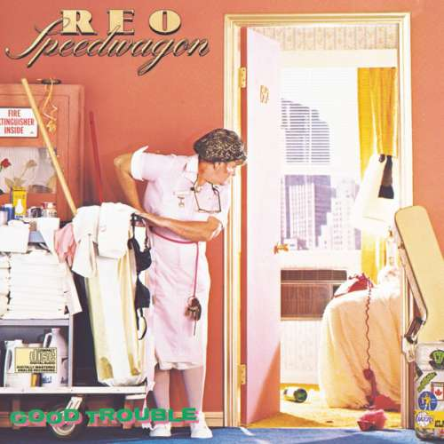 Cover zu REO Speedwagon - Good Trouble (LP, Album) Schallplatten Ankauf