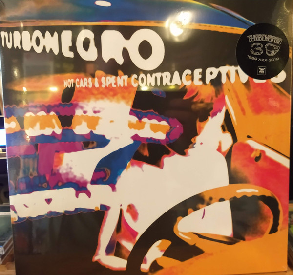 Cover Turbonegro - Hot Cars & Spent Contraceptives (LP, Album, RE) Schallplatten Ankauf