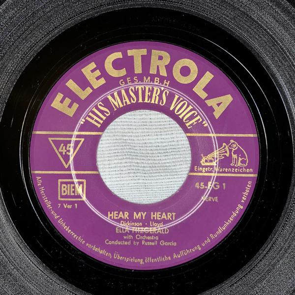 Bild Ella Fitzgerald - Hear My Heart / Hotta Chocolotta (7, Single) Schallplatten Ankauf