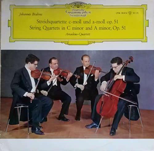 Bild Johannes Brahms, Amadeus-Quartett - Streichquartette C-Moll Und A-Moll Op.51 (LP, Mono) Schallplatten Ankauf