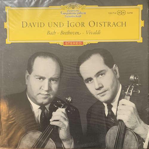 Cover zu David* Und Igor Oistrach - Bach* ∙ Beethoven* ∙ Vivaldi* - David Und Igor Oistrach (LP) Schallplatten Ankauf
