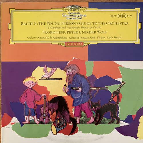Cover Britten* · Prokofiev* - Orchestre National de la Radiodiffusion - Télévision Française*, Lorin Maazel - The Young Person's Guide To The Orchestra · Peter Und Der Wolf  (LP) Schallplatten Ankauf