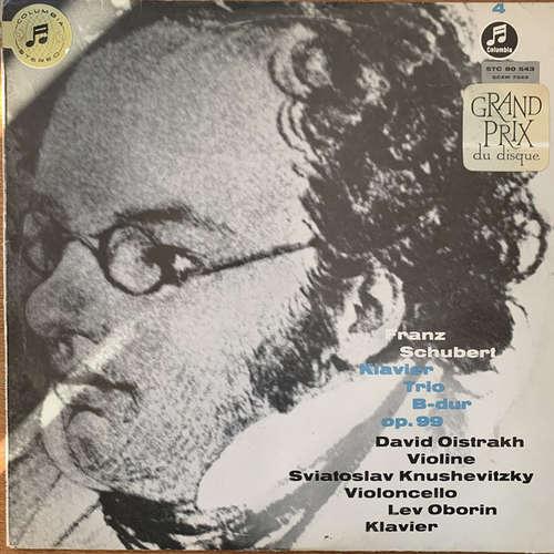Bild Franz Schubert, David Oistrakh*, Sviatoslav Knushevitzky*, Lev Oborin - Klaviertrio B-dur Op.99 (LP) Schallplatten Ankauf