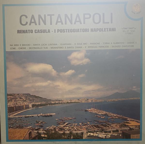 Bild Renato Casula* - I Posteggiatori Napoletani - Cantanapoli (LP) Schallplatten Ankauf