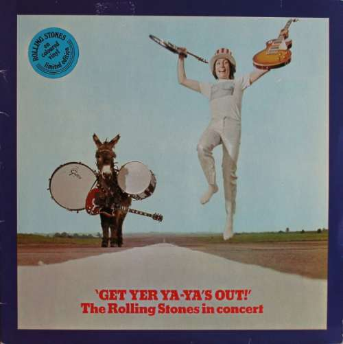Cover Rolling Stones, The - Get Yer Ya-Ya's Out (LP, RE, Blu) Schallplatten Ankauf