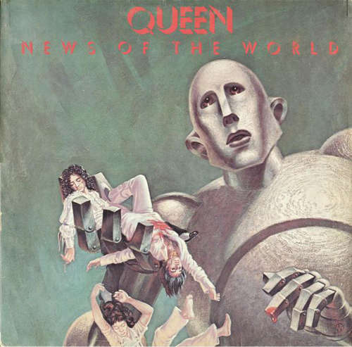 Cover zu Queen - News Of The World (LP, Album, Gat) Schallplatten Ankauf