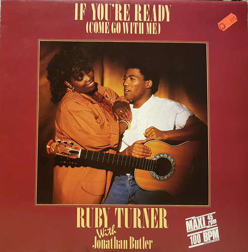 Bild Ruby Turner With Jonathan Butler - If You're Ready (Come Go With Me) (12, Maxi) Schallplatten Ankauf