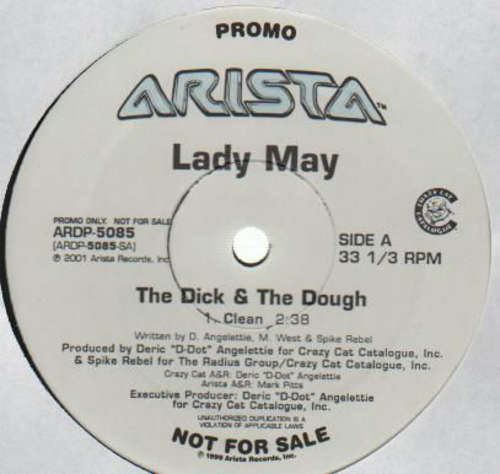 Cover Lady May - The Dick & The Dough (12, Promo) Schallplatten Ankauf