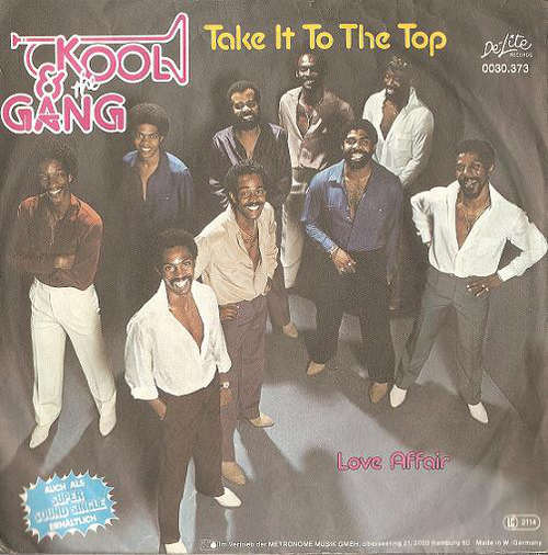 Cover Kool & The Gang - Take It To The Top (7, Single) Schallplatten Ankauf