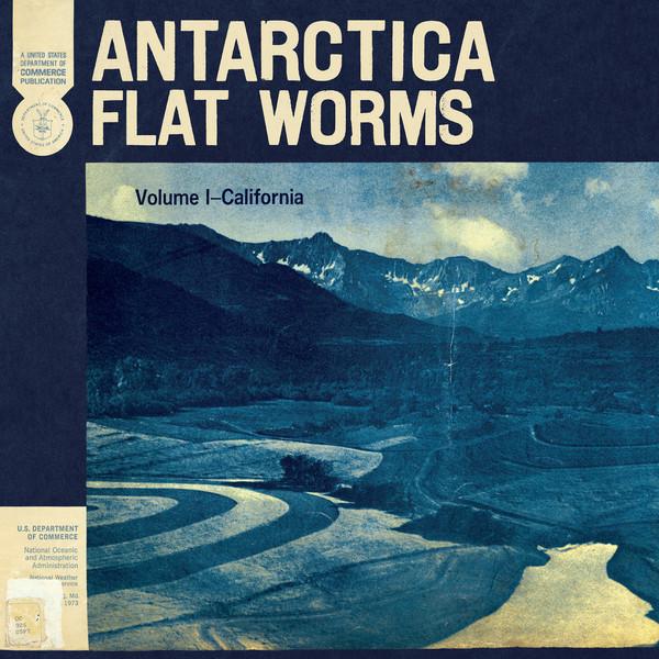 Cover zu Flat Worms - Antarctica (LP, Album) Schallplatten Ankauf