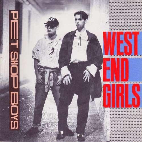 Cover Pet Shop Boys - West End Girls (7, Single) Schallplatten Ankauf