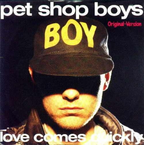 Cover Pet Shop Boys - Love Comes Quickly (7, Single) Schallplatten Ankauf