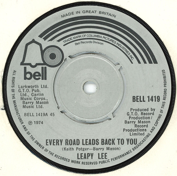Bild Leapy Lee - Every Road Leads Back To You (7, Single) Schallplatten Ankauf