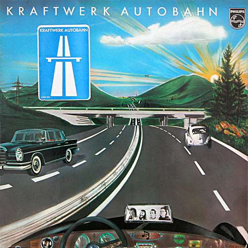 Cover Kraftwerk - Autobahn (LP, Album) Schallplatten Ankauf