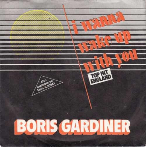 Cover Boris Gardiner - I Wanna Wake Up With You (7, Single) Schallplatten Ankauf