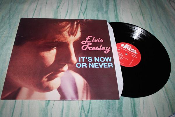 Cover Elvis Presley - It's Now Or Never (LP, Comp) Schallplatten Ankauf