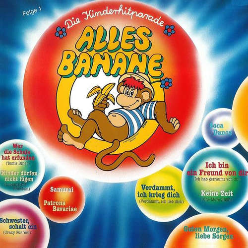 Cover Various - Die Kinderhitparade Alles Banane Folge 1 (LP) Schallplatten Ankauf