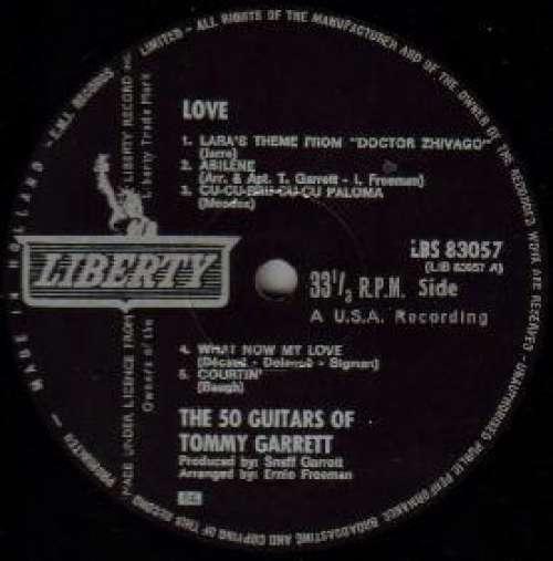 Bild The 50 Guitars Of Tommy Garrett - Love (LP) Schallplatten Ankauf