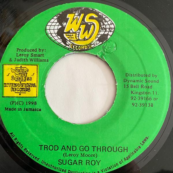 Cover Sugar Roy - Trod And Go Through (7) Schallplatten Ankauf