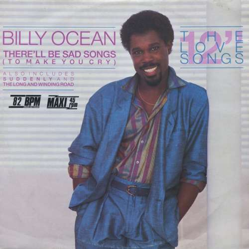 Bild Billy Ocean - There'll Be Sad Songs (To Make You Cry) (12, Maxi) Schallplatten Ankauf