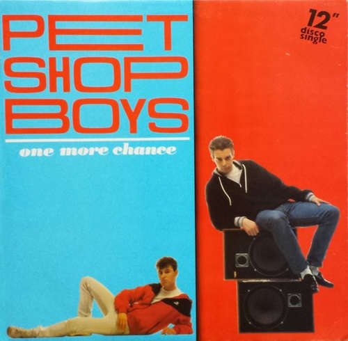 Cover Pet Shop Boys - One More Chance (12, Single) Schallplatten Ankauf