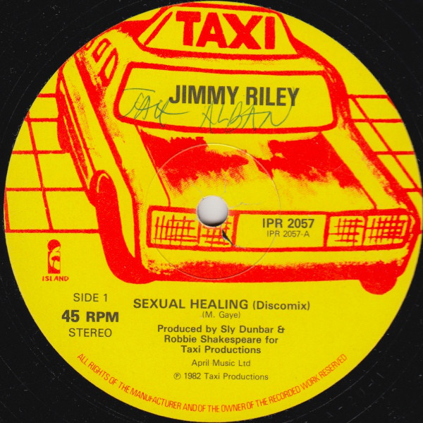 Cover Jimmy Riley / Sly And Robbie* - Sexual Healing / Search And Destroy (12) Schallplatten Ankauf