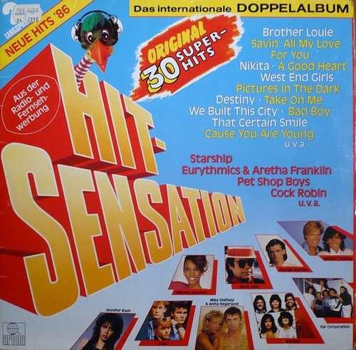 Cover Various - Hit-Sensation - Das Internationale Doppelalbum (2xLP, Comp) Schallplatten Ankauf