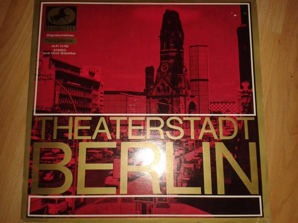 Cover Various - Theaterstadt Berlin (LP, Comp) Schallplatten Ankauf