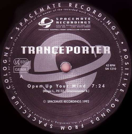Cover zu Tranceporter - Open Up Your Mind (12) Schallplatten Ankauf