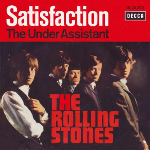 Cover zu The Rolling Stones - Satisfaction (7, Single) Schallplatten Ankauf