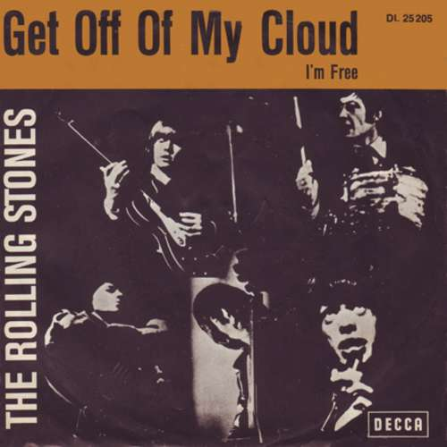 Cover The Rolling Stones - Get Off Of My Cloud (7, Single) Schallplatten Ankauf