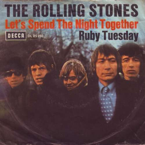 Cover The Rolling Stones - Let's Spend The Night Together / Ruby Tuesday (7, Single) Schallplatten Ankauf
