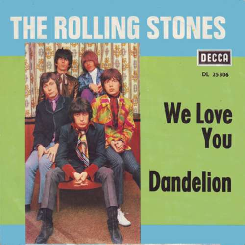 Cover The Rolling Stones - We Love You / Dandelion (7, Single) Schallplatten Ankauf