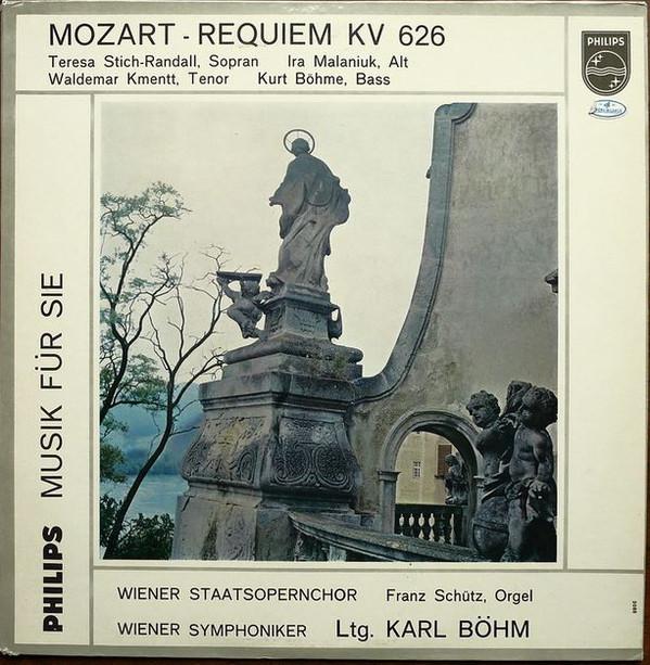 Bild Wolfgang Amadeus Mozart - Wiener Symphoniker Karl Böhm Mozart Requiem KV 626 (LP) Schallplatten Ankauf