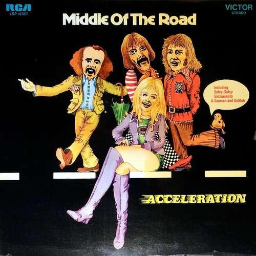 Cover Middle Of The Road - Acceleration (LP, Album, Gat) Schallplatten Ankauf